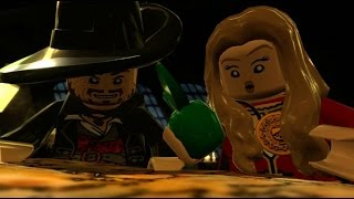 LEGO Pirates of the Caribbean - 100% Guide #2 - Tortuga (All Collectibles)