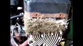 John Deere , Shuts off,The 116H Has Two Fuel Pumps,
