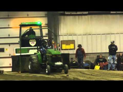 Jd Mini Diesel At The 2013 Eaton Oh Tractor Pull Youtube