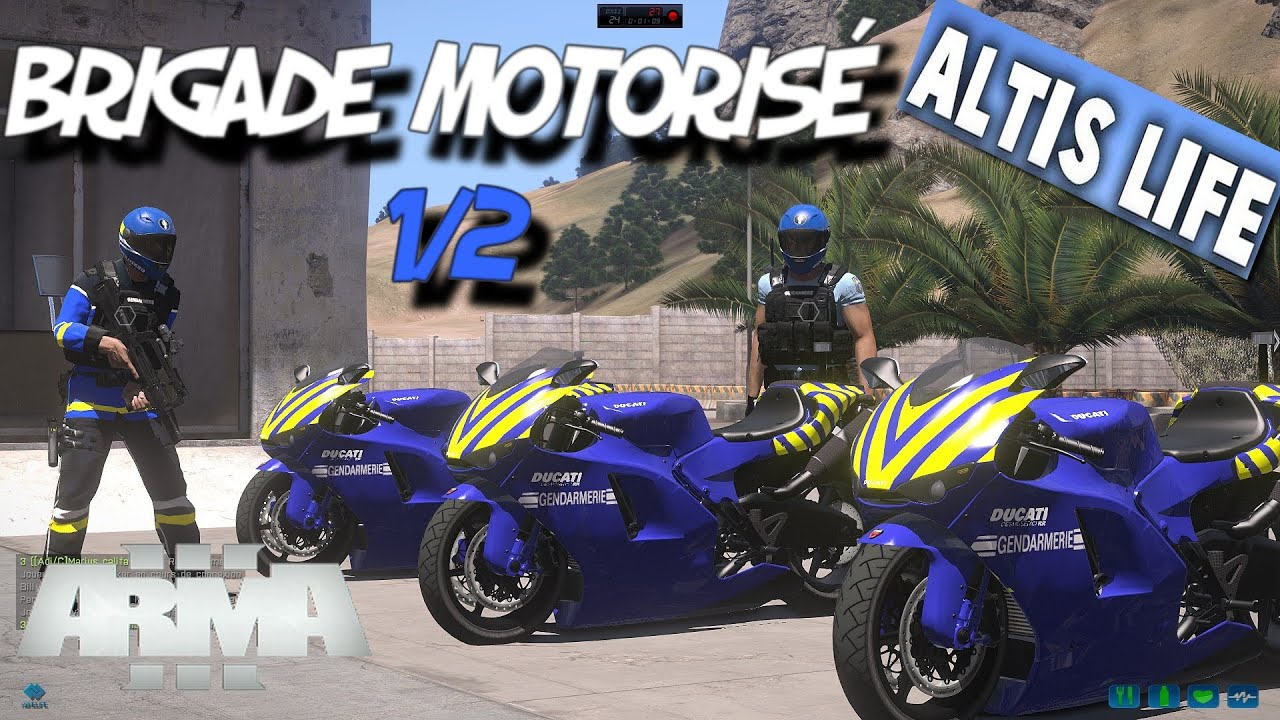 fr altis life gendarmerie la brigade motoris course poursuite ep 1 2 home life. Black Bedroom Furniture Sets. Home Design Ideas