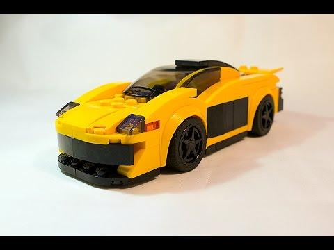 tutorial: lego speed champions set 75909: mclaren p1 moc