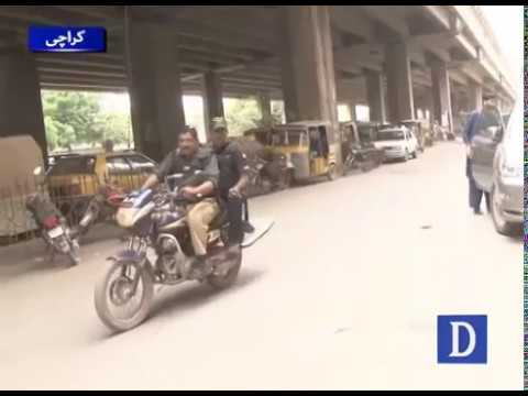 How Karachi police perform duties ? Watch video