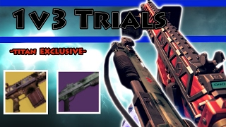 1v3 Trials w/ Titan Exclusives (Fabian Strategy/Immobius) Rage Quit, Almost Perfect   Destiny