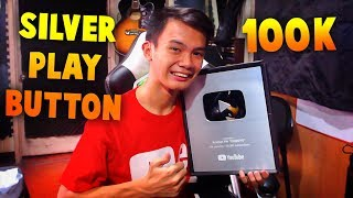100,000 Subscribers Silver Play Button - Best Gift Of The Year
