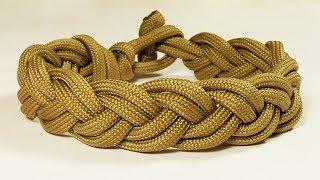 """Paracord Bracelet: """"Turk's Head Style Sailor's Knot Bracelet"""""""
