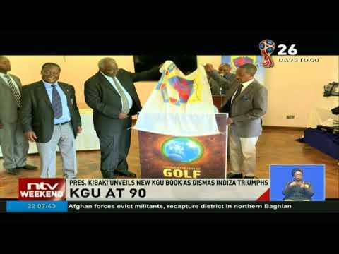 Retired Pres. Kibaki unveils new KGU book as Dismas Indiza triumphs