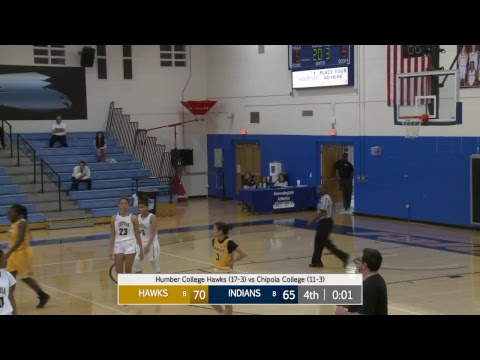Women's Basketball: Chipola College Vs Humber College