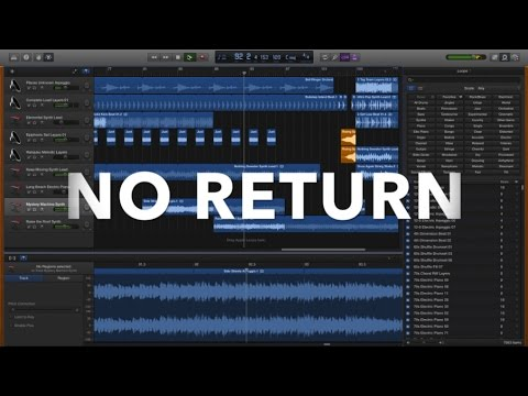 Best Garageband Song Ever! #7 - NO RETURN | JustBecause
