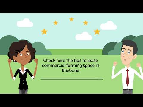 How to lease commercial farming space in Brisbane at cost-effective rate?