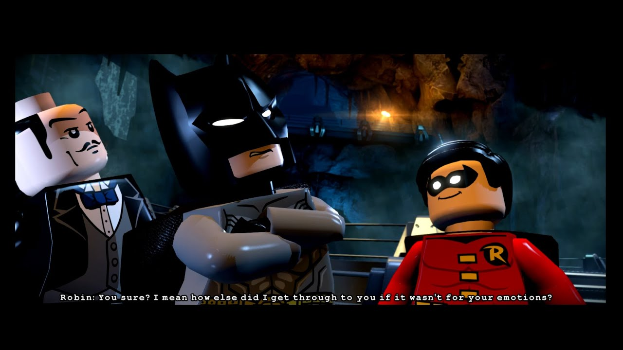 LEGO Batman: 3 Beyond Gotham - Level 2: Breaking BATS ...