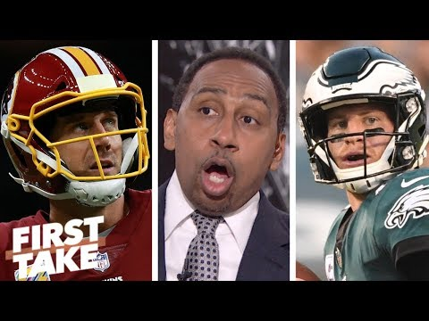 Stephen A.: Redskins are 'fraudulent,' Eagles are NFC East team to beat | First Take