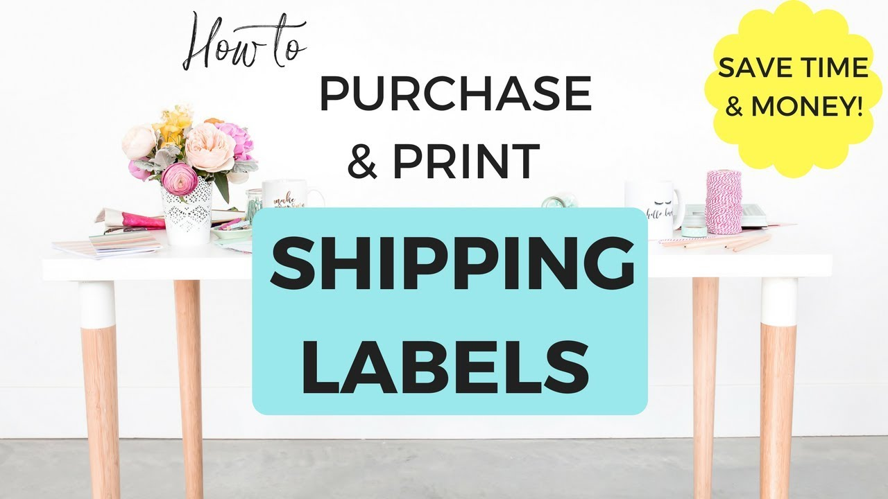 How to purchase print shipping labels for your online for How to purchase a shipping label