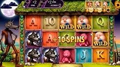 Big Bad Wolf online slot - Mega Big Win (382x) two bonus games