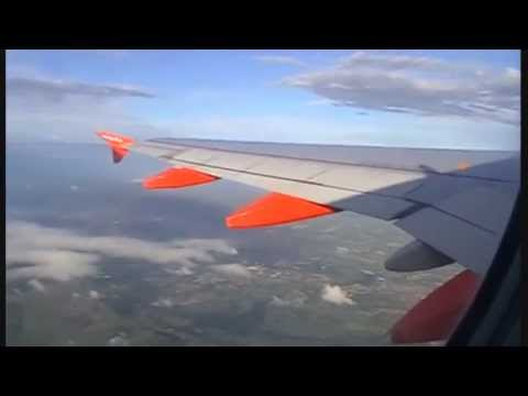 easyJet A319 takeoff Belfast International Airport