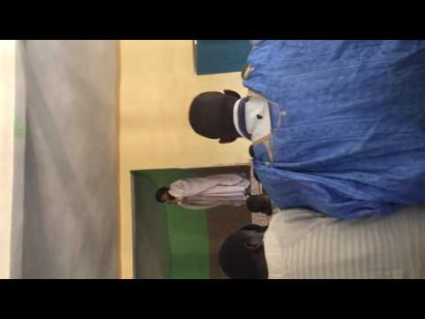 Shaykh Salek delivers Friday khutbah at Darus Salam ( Mauritania)