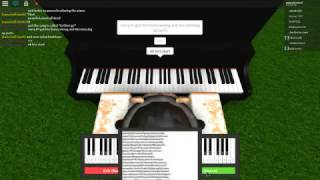 Let her go | Virtual Piano | Roblox