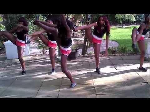 Unique Silver Dancers- Wizkid- Azonto and baddest boy dance
