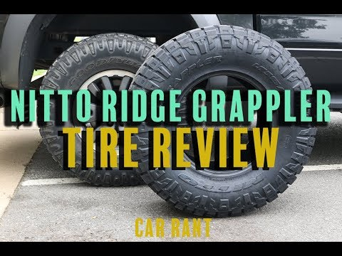Nitto Ridge Grappler Tires For Our Raptor F150 - Car Rant 5.14