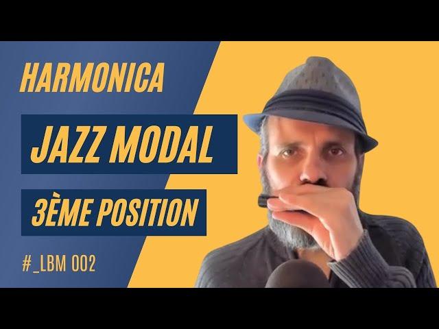 Live Backstage du Matin 002 - harmonica jazz modal en 3ème position - A Minor Touch (Willie Thomas)