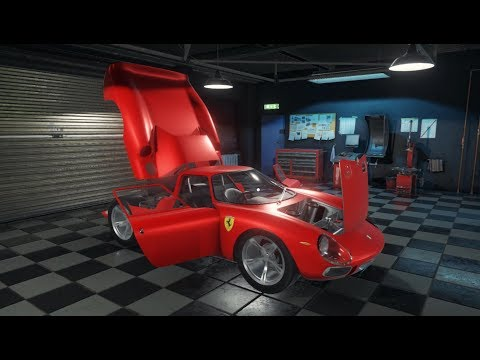 Car Mechanic Simulator 2018 - Ferrari 250 LM - Restoration, Upgrades, and Dyno