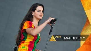 Lana Del Rey - Video Games (Glastonbury 2014)