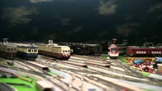 鉄道模型 屋根裏鉄道「新月影急行 屋根裏線」 039 SBB RAeTEE