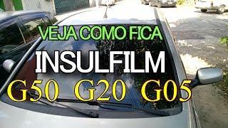 TESTE DE VISIBILIDADE COM INSULFILM G50 G20 E G05