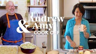 Andrew Zimmern & Amy Klobuchar Hotdish Cook-off