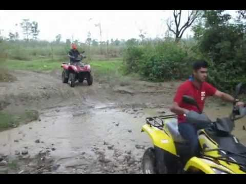 ATV jungle safari, India Adventure Wheels.wmv