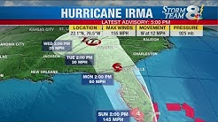 Hurricane Irma still very dangerous, Storm Surge Watch in effect for Tampa Bay