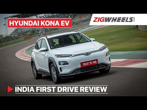 Hyundai Kona Electric India | First Drive Review | ZigWheels.com