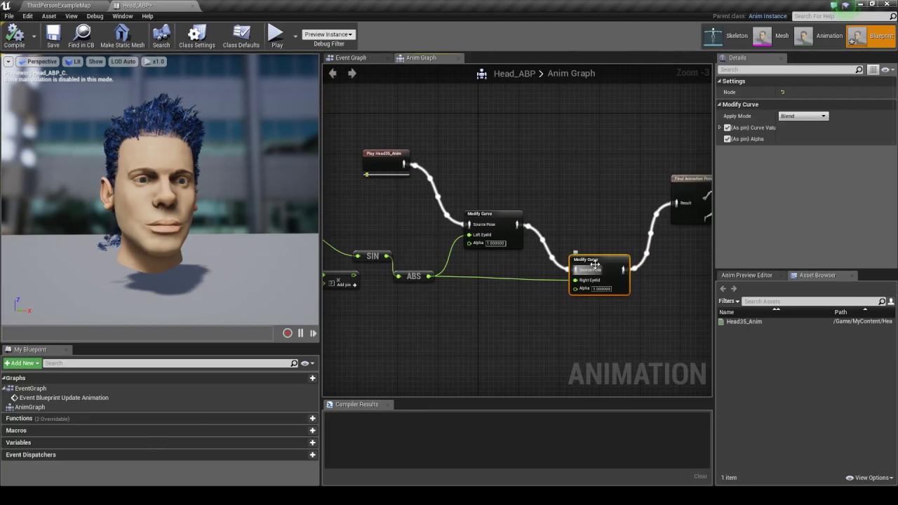 Ue4 skeletal controls modify curve a youtube ue4 skeletal controls modify curve a malvernweather Choice Image