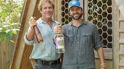 Dixie Founder Matti Anttila with Savannah Bee Company Founder Ted Dennard discuss Dixie Wildflower