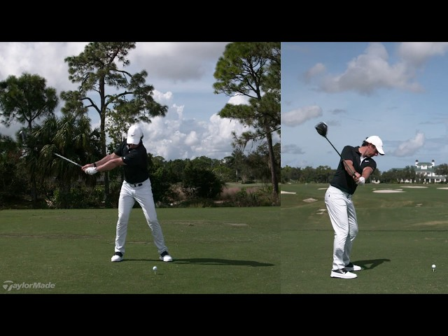 Rory McIlroy's Powerful Driver Swing | TaylorMade Golf