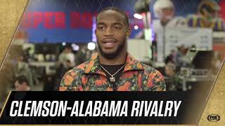 Texans' Watson, Jackson disagree over Clemson Alabama rivalry   Jan 31, 2019