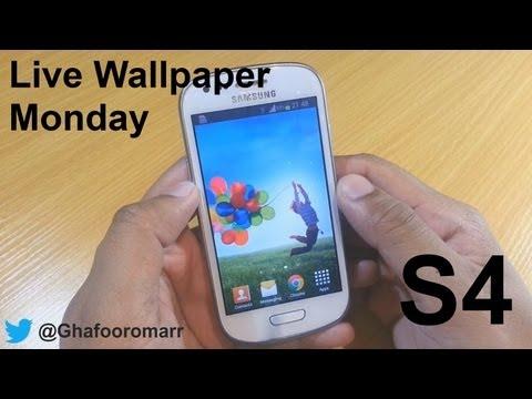 S4 Live Wallpaper on Samsung Galaxy S3 Mini