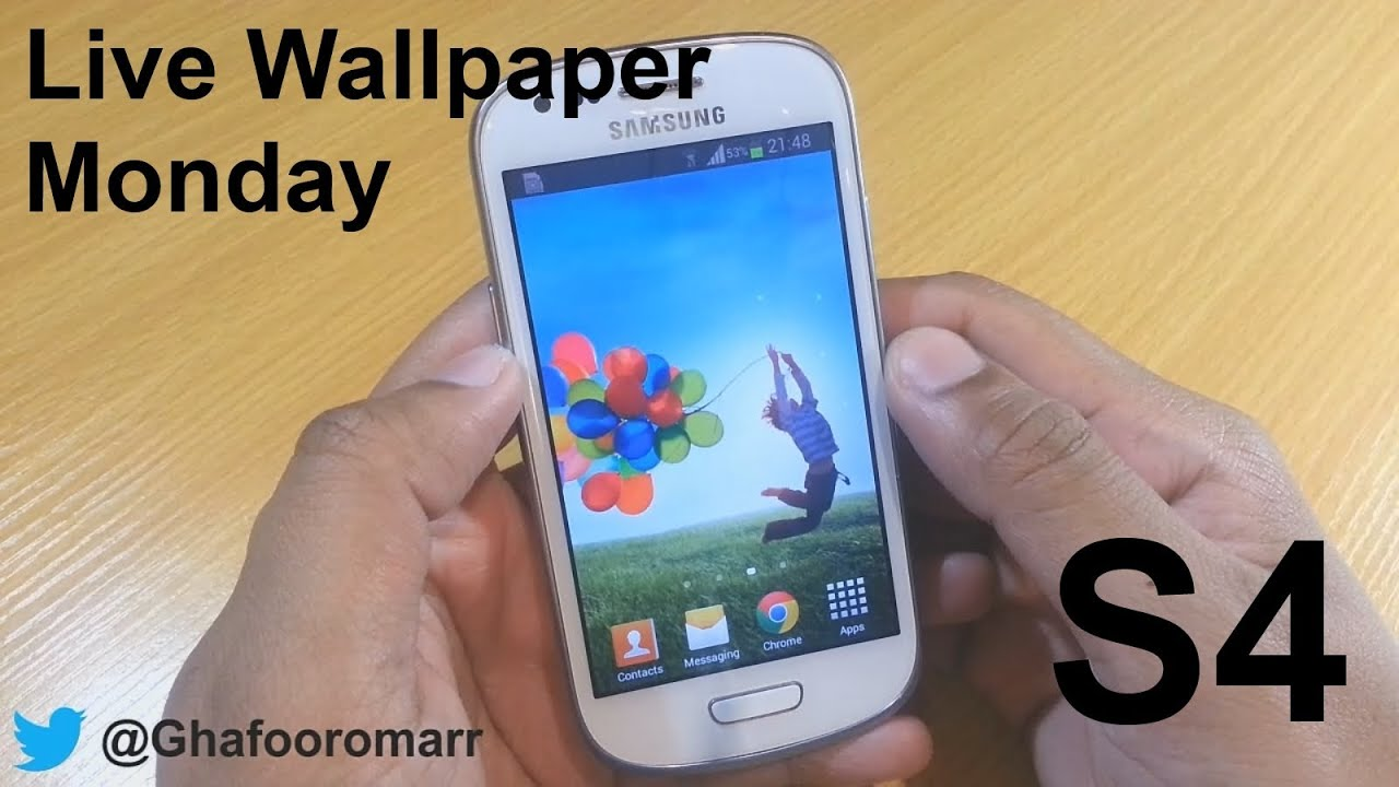 BEST ANDROID LIVE WALLPAPERS ON SAMSUNG GALAXY S4, NOTE 3 ... |Samsung Galaxy S4 Live Wallpaper