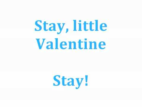 """My Funny Valentine"" by Kristin Chenoweth karaoke/instrumental"