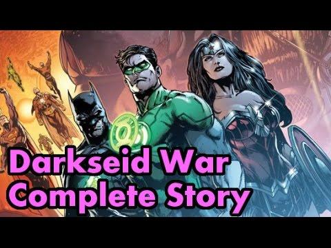Justice League Darkseid War Complete Story
