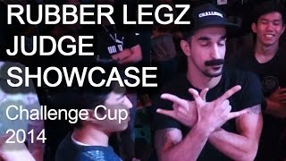 Bboy Rubber Legz 2014 Challenge Cup Finals Solo Judge Showcase  | [Pi]