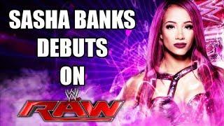 WWE RAW 7/13/2015 - Sasha Banks Makes Her WWE Debut/Exclusive