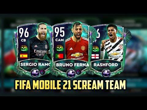 FIFA MOBILE 21 SCREAM TEAM IS HERE | SEASON CARD CONCEPT ...