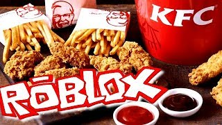 ON OPEN OUR RESTAURANT KFC ROBLOX