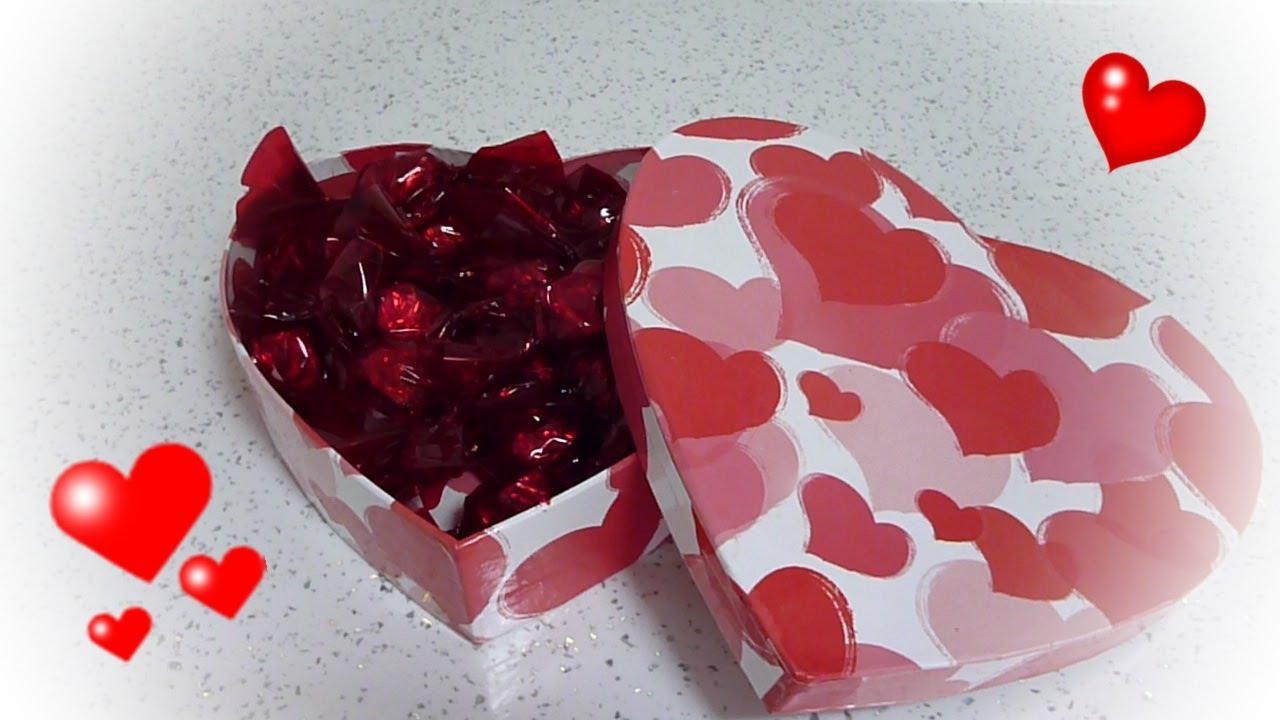 Bombones corazones de chocolate para san valentin - Corazones de san valentin ...