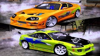 Fast and Furious Car Mods - Need For Speed Most Wanted Remastered Graphics