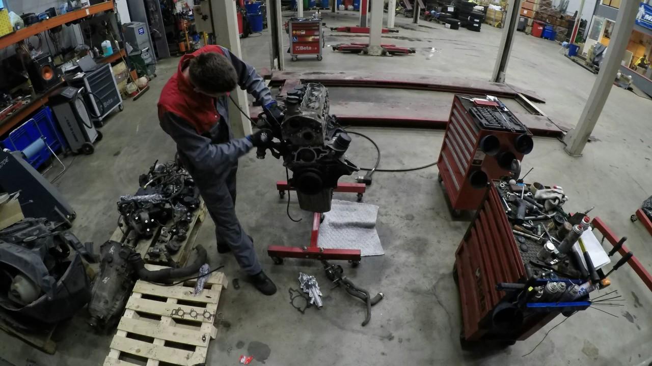MB Sprinter engine swap