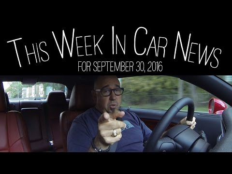 Automotive News Of the Week September 30 2016