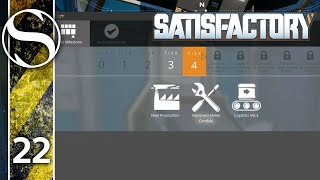 FULL VERSION - Let's Play Satisfactory - Satisfactory Gameplay Part 22