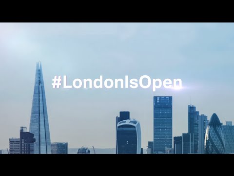 #LondonIsOpen for business