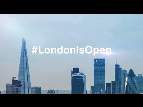 #LondonIsOpen for business